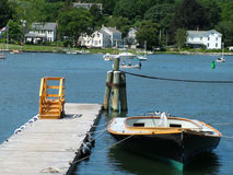 湖重新创建 免版税图库摄影