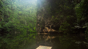 湖镜子在霹雳州 库存图片