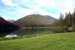 湖闪电 库存图片