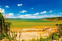 湖阿雷纳尔哥斯达黎加 图库摄影