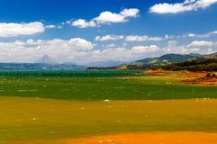 湖阿雷纳尔哥斯达黎加 库存照片