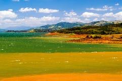 湖阿雷纳尔哥斯达黎加 免版税图库摄影