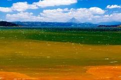 湖阿雷纳尔哥斯达黎加 免版税库存图片