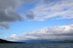湖阿雷纳尔奇迹  库存图片