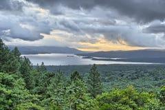 湖阿雷纳尔 免版税库存图片