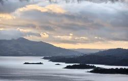 湖阿雷纳尔 免版税库存照片