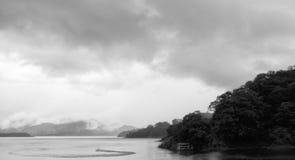 湖阿雷纳尔 库存照片