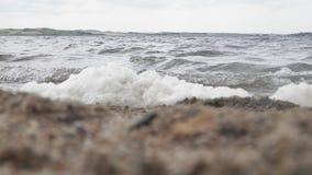 湖震动 库存照片