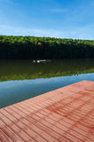 湖风景-三Waters湖 库存图片