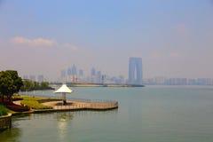 湖风景 免版税库存图片