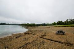 湖马尔堡,在雷暴前的汉诺威宾夕法尼亚 库存照片