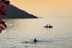 湖马拉维 免版税库存图片