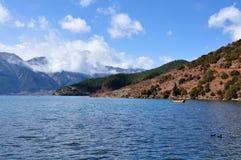 湖高原 库存图片