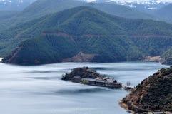 湖高原 库存照片