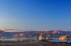 鲍威尔峡谷 免版税库存图片