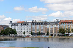 湖,哥本哈根 库存图片