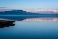 湖细节 免版税库存图片