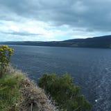 湖 苏格兰 奈斯湖 水 图库摄影