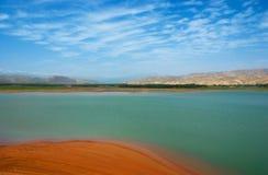 湖 图库摄影