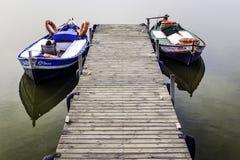 湖Albufera,巴伦西亚,西班牙 免版税库存图片