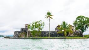 湖Amatitlan,危地马拉 免版税库存图片