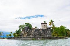 湖Amatitlan,危地马拉 库存图片