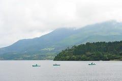 湖Ashi 免版税库存图片