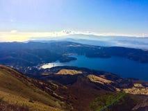 湖Ashinoko Motohakone在日本 免版税库存图片