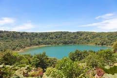 湖Botos,哥斯达黎加 免版税库存图片
