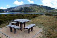 湖Catani,登上水牛城国家公园,维多利亚,澳大利亚 免版税库存图片