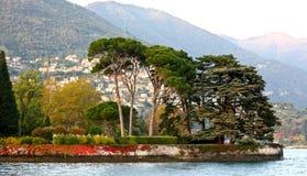 湖Como,意大利 库存照片