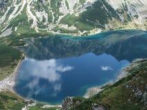 湖Czarny sienicowy的Staw GÄ… 免版税库存图片