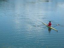 湖Jarun在萨格勒布 库存照片