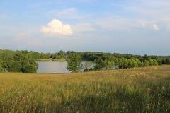湖Kamień 图库摄影