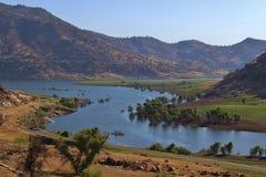 湖Kaweah,加利福尼亚 库存照片