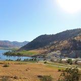 湖Kaweah,加利福尼亚 图库摄影