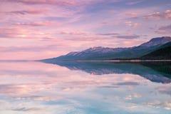湖Khovsgol Khovsgol达赖,北蒙古 库存图片