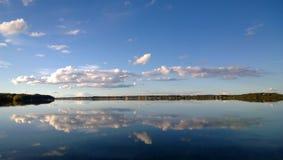 湖Kroshnozero在卡累利阿 库存照片