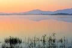 湖leane 库存图片