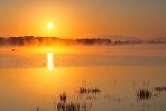 湖leane 库存照片