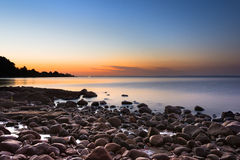 湖LLanquihue 库存图片