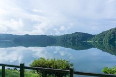 湖Miike的静止 库存图片