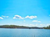 湖Monduran在昆士兰,澳大利亚 库存照片