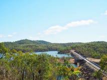 湖Monduran在昆士兰,澳大利亚 库存图片