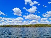 湖Monduran在昆士兰,澳大利亚 免版税库存照片