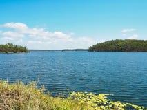 湖Monduran在昆士兰,澳大利亚 免版税库存图片