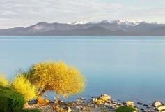 湖Nahuel Huapi,圣卡洛斯de巴里洛切,巴塔哥尼亚 免版税库存照片
