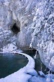 湖nationa公园plitvice 免版税图库摄影