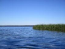 湖Newnan佛罗里达看法  免版税库存照片