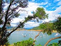湖Oroville 免版税图库摄影